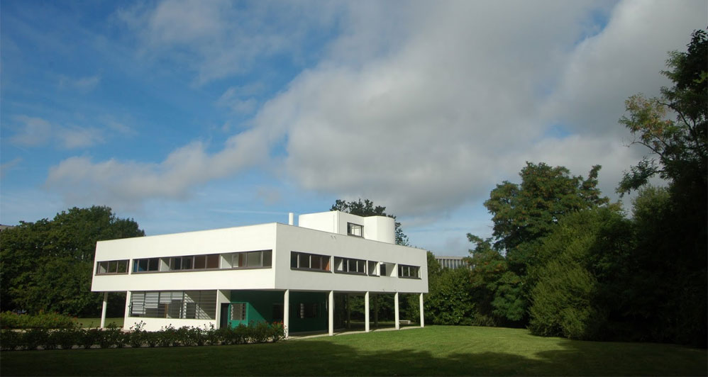 1931. Villa Savoye, Poissy, France by Le Corbusier